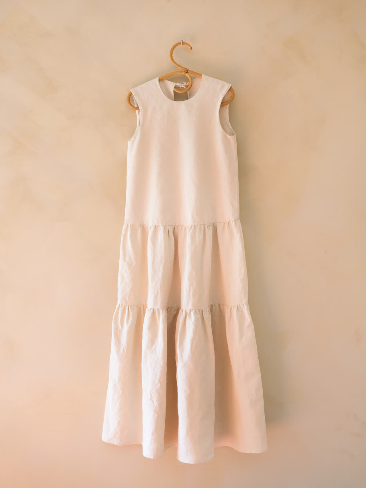 modular antique linen dress