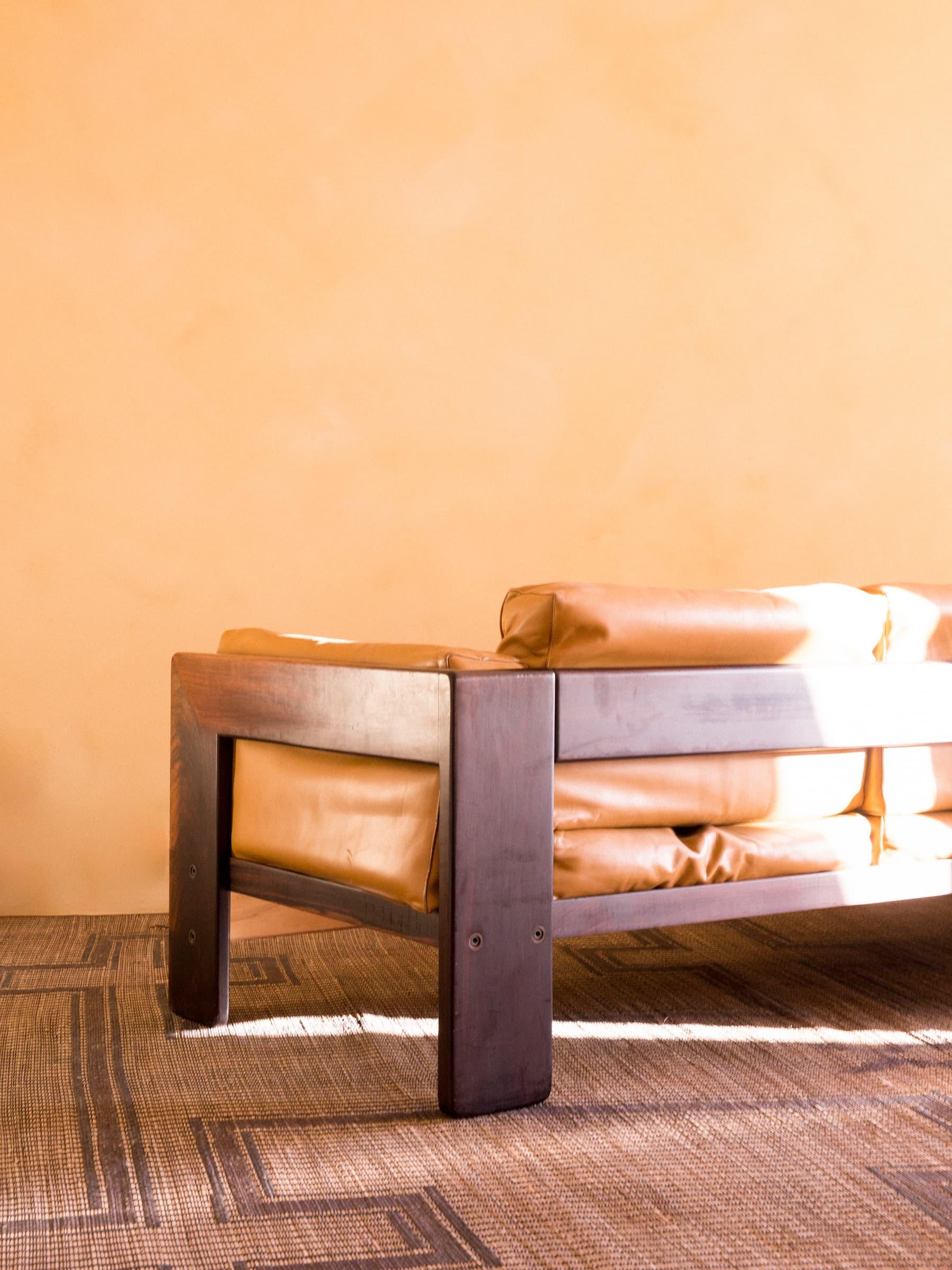 Bastiano sofa & lounge chair, 60's