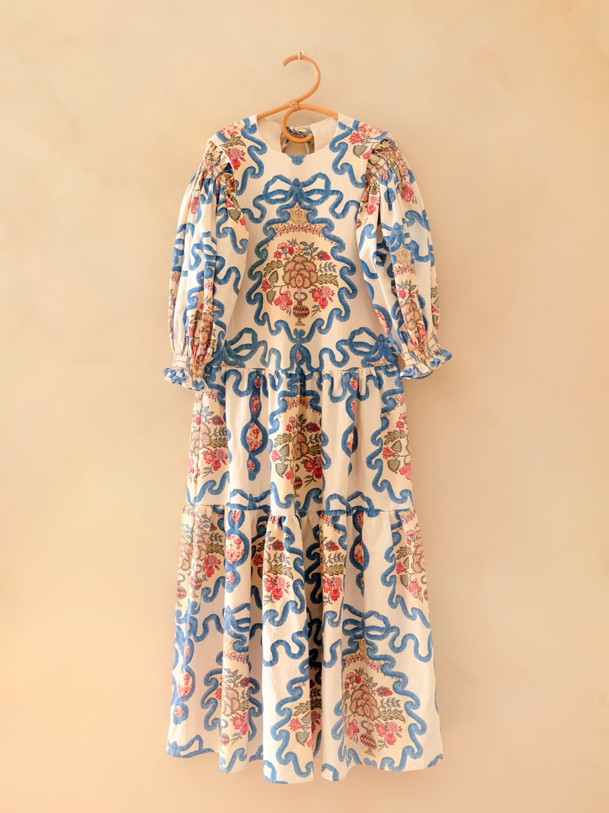 modular pomegranate dress