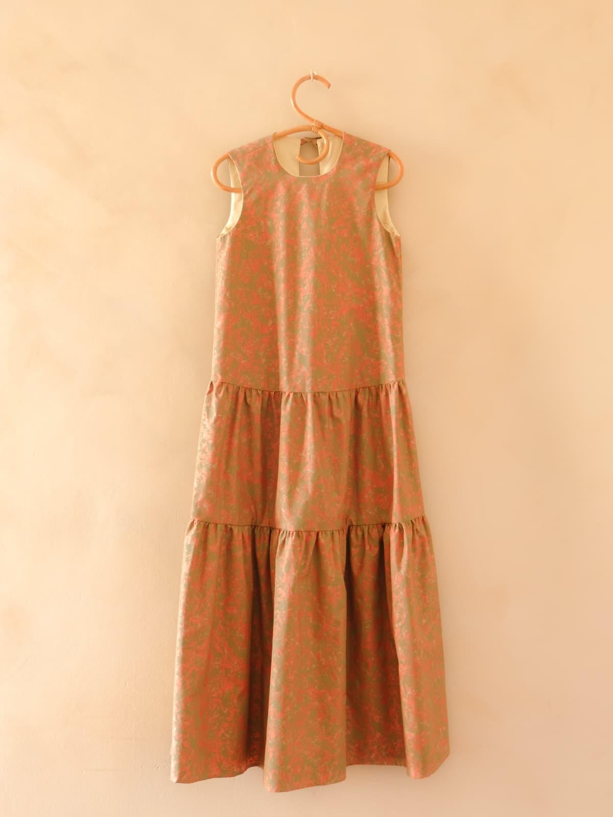 marbled dress