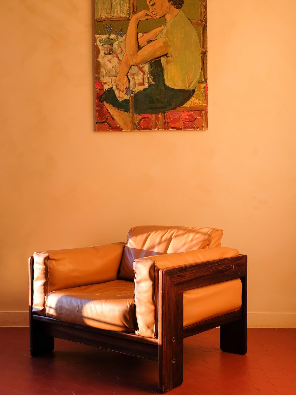 Bastiano armchair, 60's