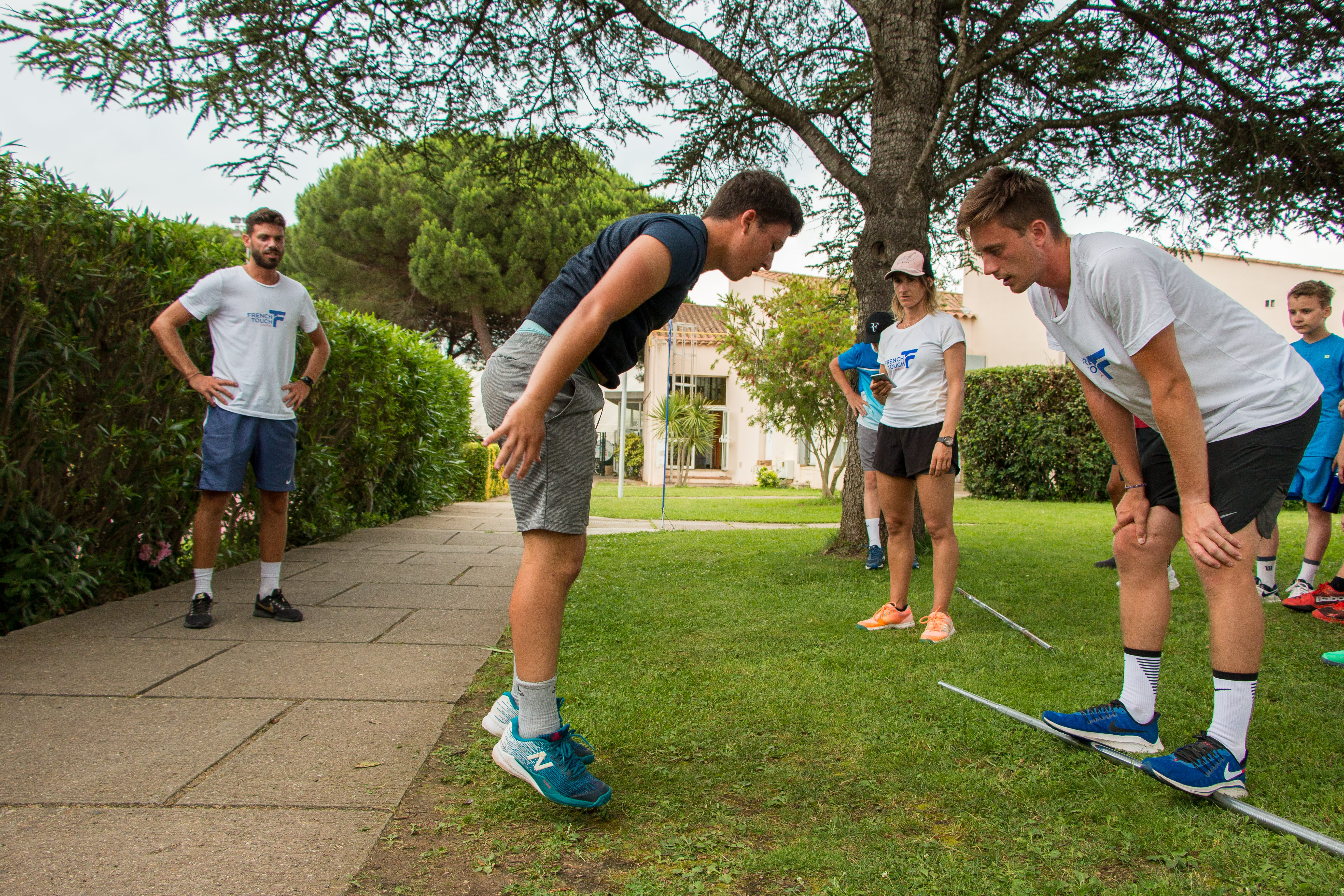 A physical  training adapted to tennis