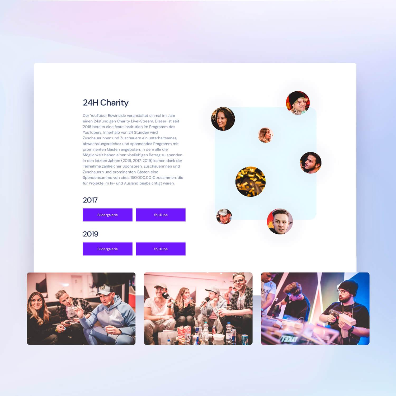 Webdesign screenshot