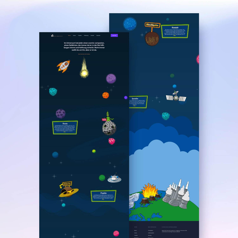 Landingpage design preview