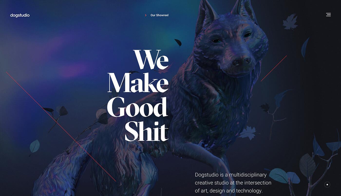 Website Screenshot Dogstudio