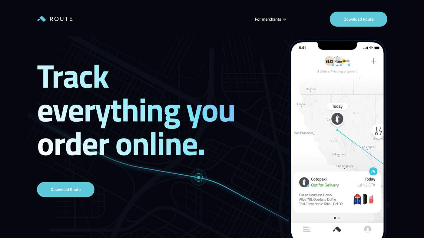 Website Screenshot Route