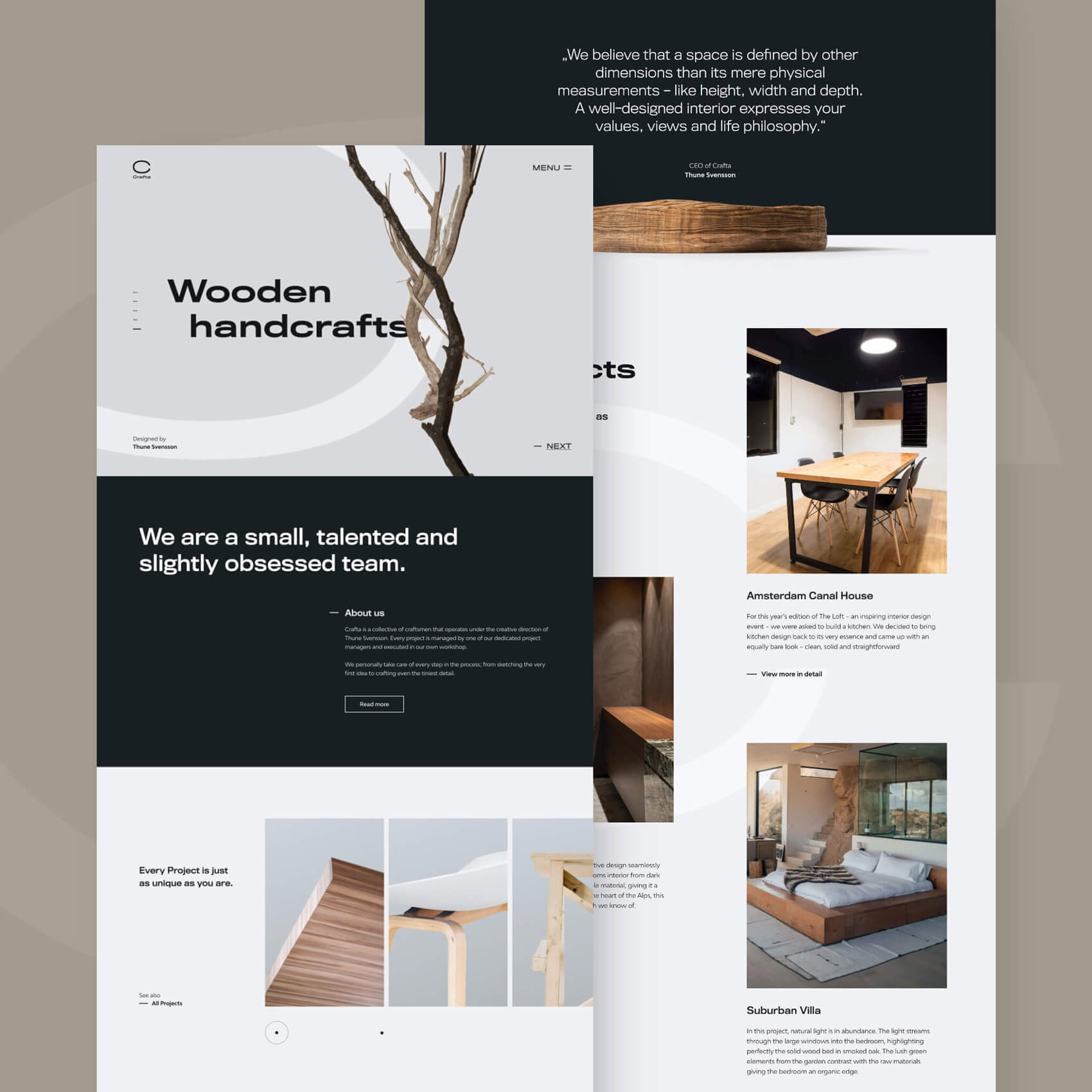 Landingpage Webdesign Preview