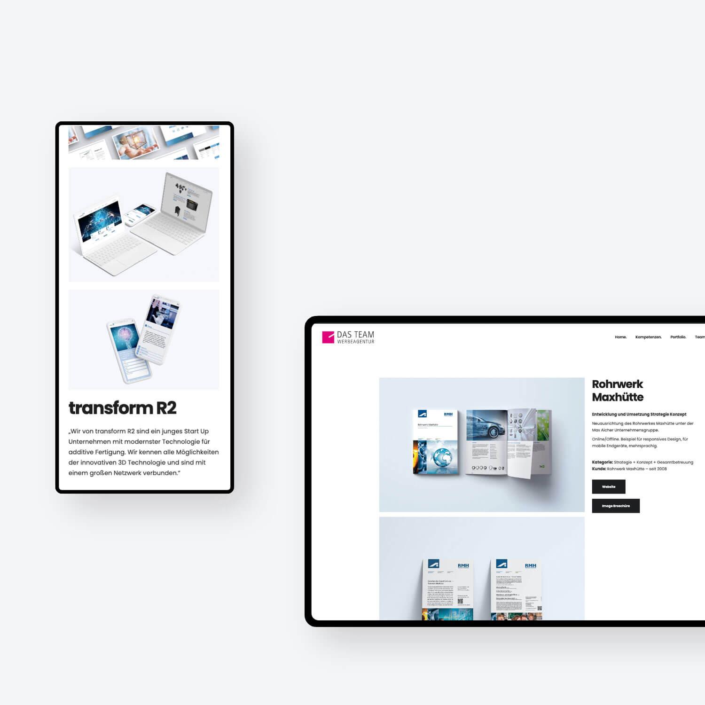 Responsive Webesign