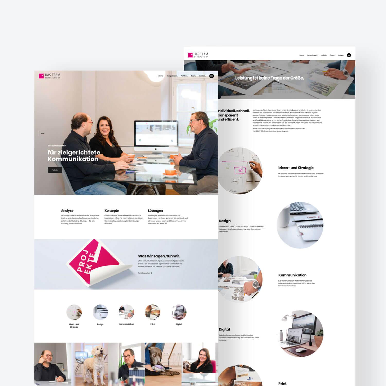 Website Landingpage Design