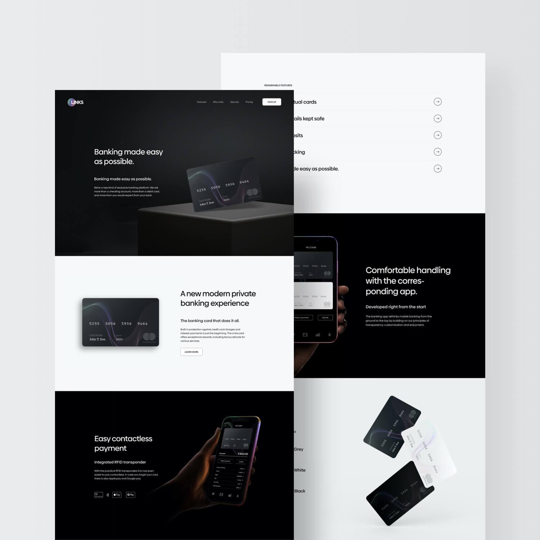 Website Landingpage Preview