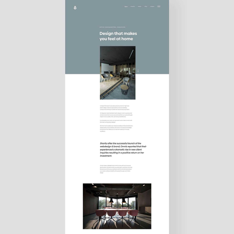 Responsive webdesign screenshot