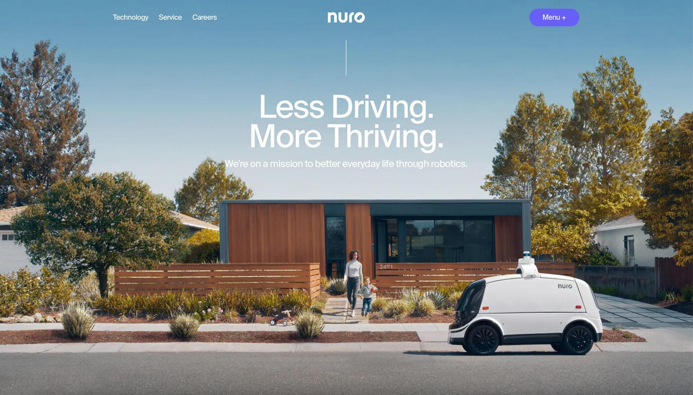 Website Screenshot of nuro.ai