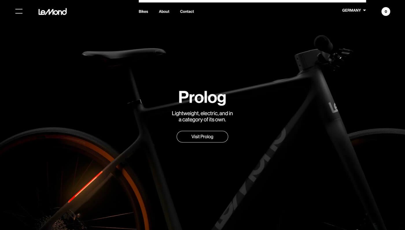 Website Screenshot of lemond.com