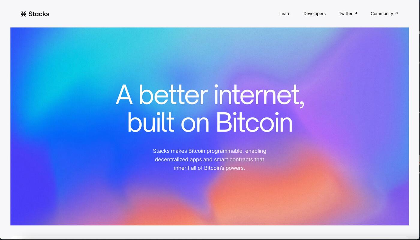 Website Screenshot of stacks.co