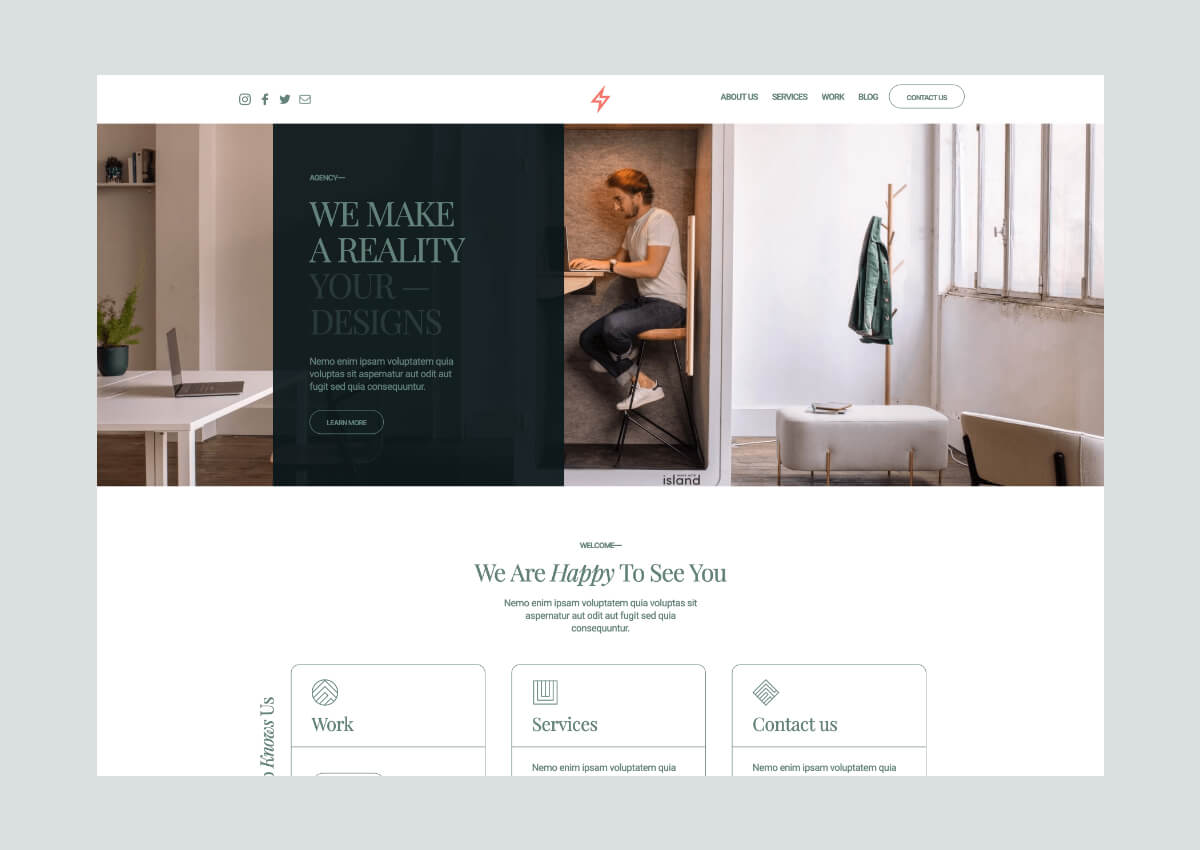 Agata Webflow Template