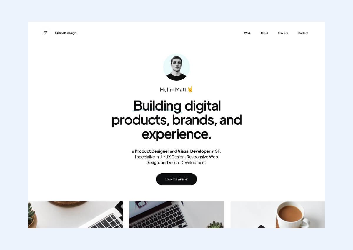 Creator Webflow Template