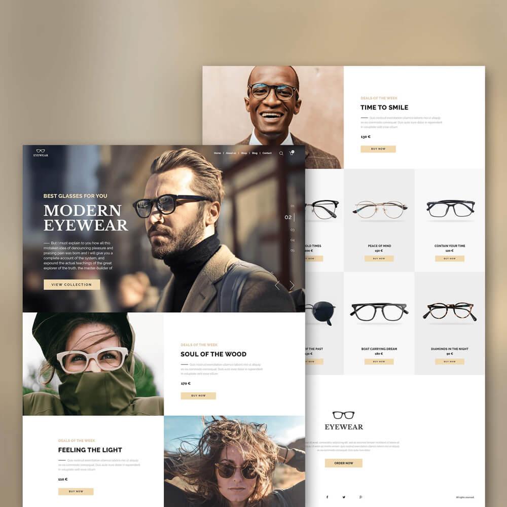 Verschiedene Personen mit Brillen.