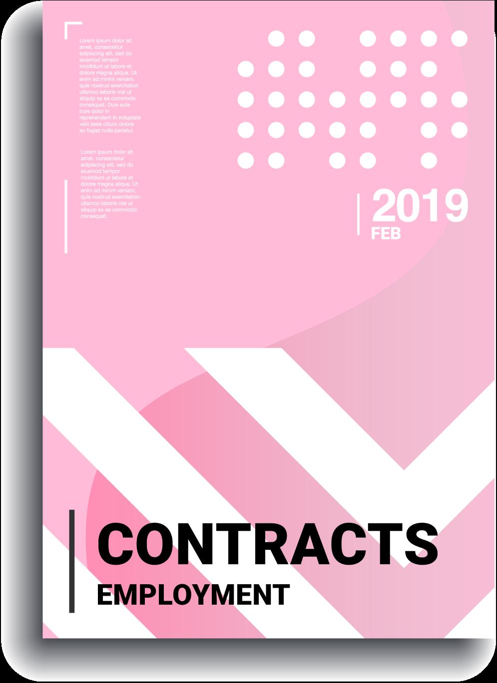 A modern bespoke employment contract