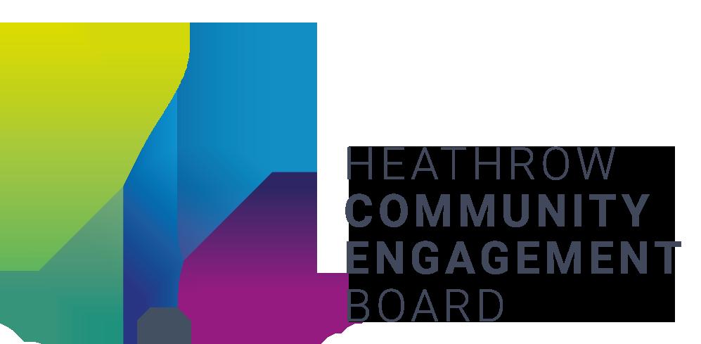 Heathrow Community Engagement Board logo.
