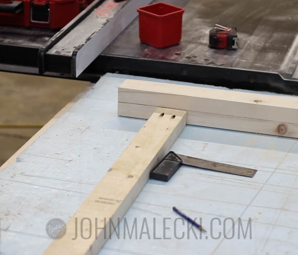 Table Saw Outfeed Table Step-4