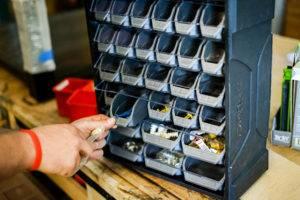 Husky 28-Drawer Small Parts Organizer