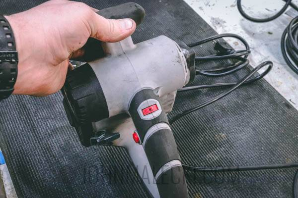 Brush Sander Review - PC Variable Speed (1 of 1)