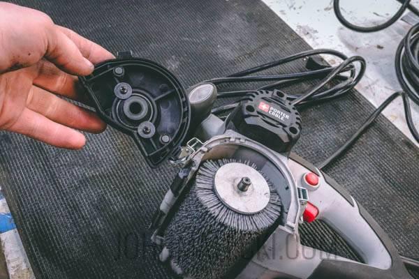 Brush Sander Review - PC Drum Change (1 of 1)