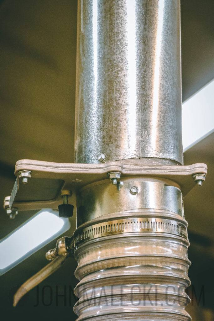"""Dust Collection System 4"""" Blast Gate and Hosing"""