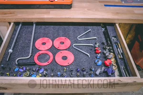 Router Table Bit Storage