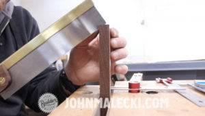 john malecki makes half blind dove tails