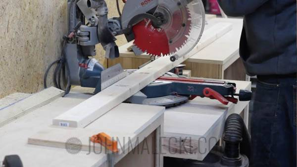 Table Saw Outfeed Table Step-1