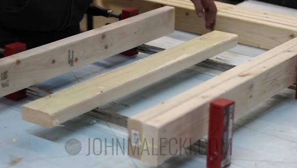 Table Saw Outfeed Table Step-2