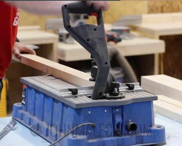 Table Saw Outfeed Table Step-3