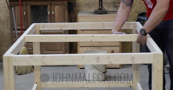 Table Saw Outfeed Table Step-5