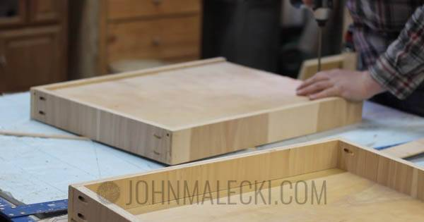 Table Saw Outfeed Table Step-15