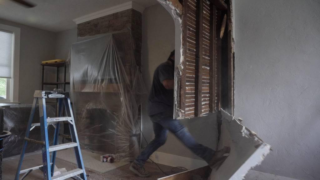 1st floor demolition