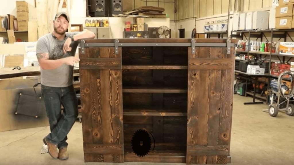 How to Make Your Own Sliding Bookshelf Doors
