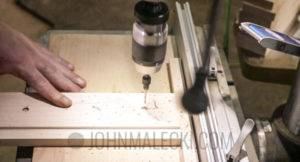 Drill Charging Station Cut & Attach Face Frame
