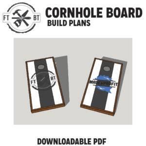 FREE Cornhole Plans