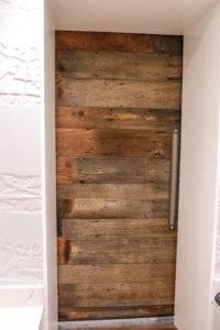 Barn Door Inside
