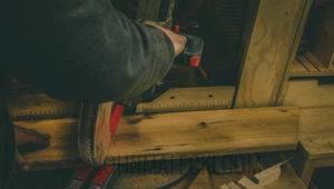 Industrial Barn Door - Panel Rough Cut -