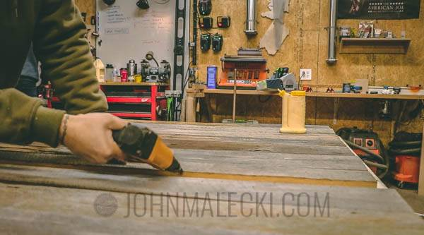 Industrial Barn Door - Back Slat Assembly -