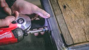 Industrial Barn Door - Attach Hardware--2