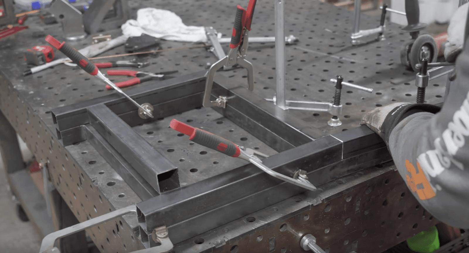 Chair Frame Welding