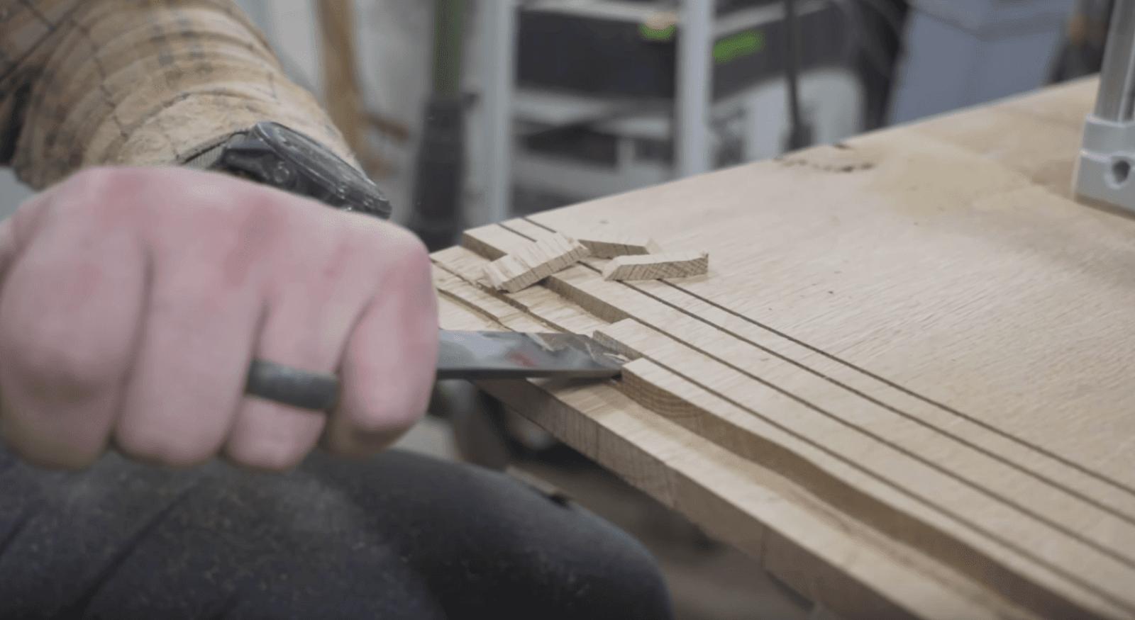 Creating breadboard ends