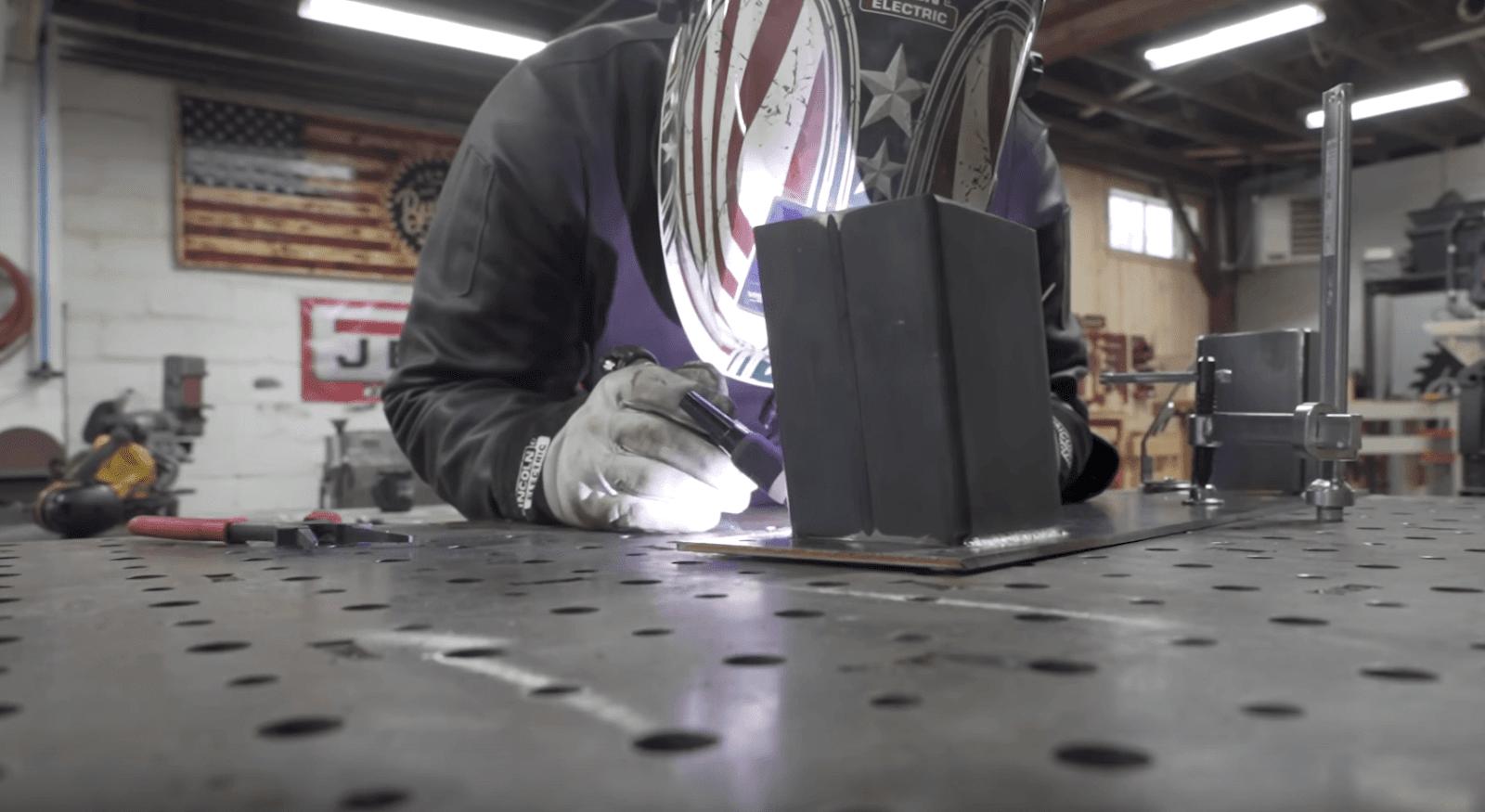 Metal Table Base Welding
