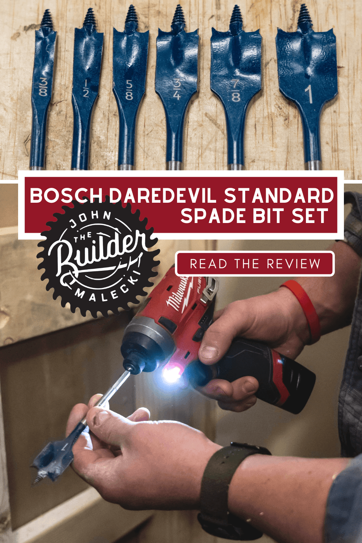 Bosch Daredevil Standard Spade Set