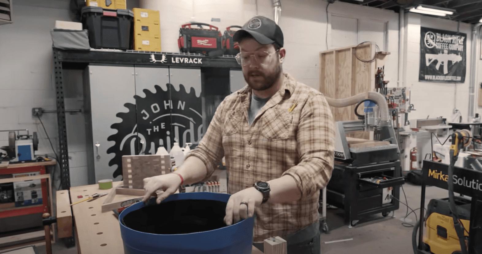 trash can epoxy mold