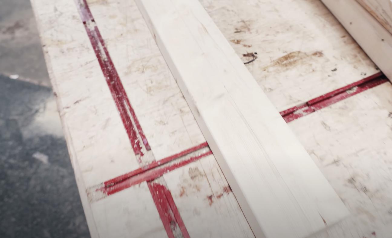 slab of wood