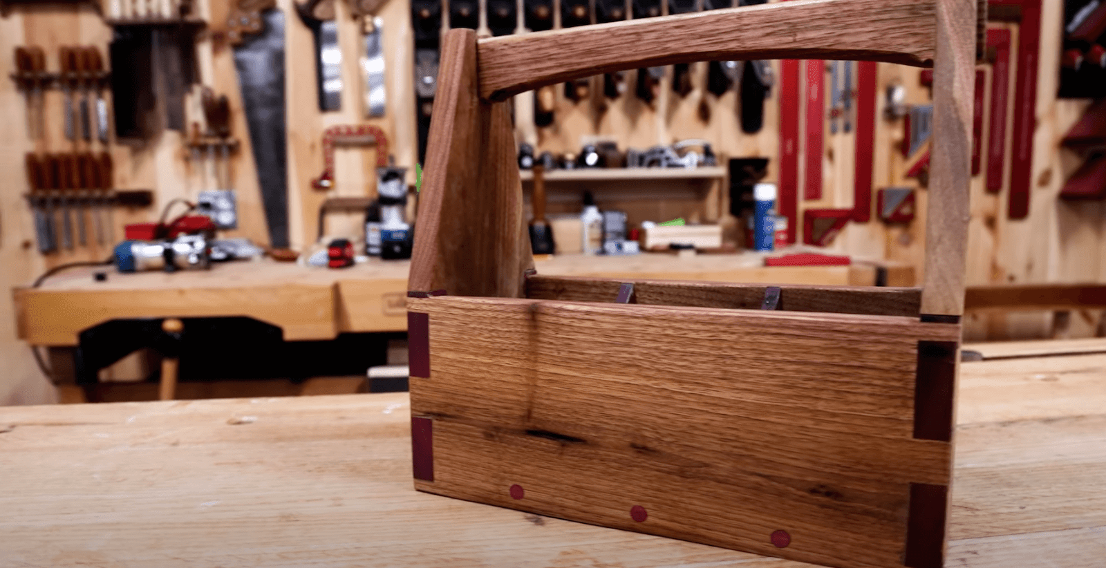 finished dovetail challenge build